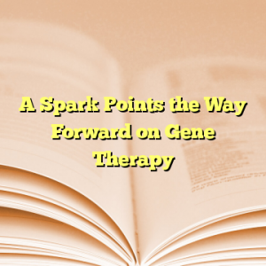 A Spark Points the Way Forward on Gene Therapy